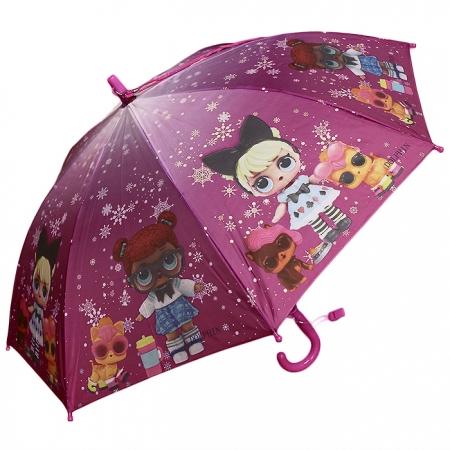 "Детский зонт ""кукла Лол"" 978-1"
