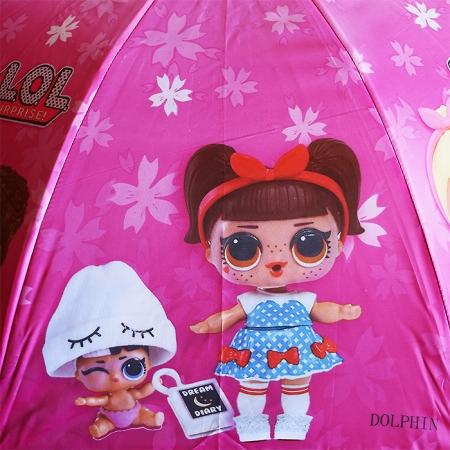 "Детский зонт ""кукла Лол"" 978-2"