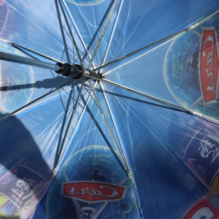 """Складной зонт трость детский для мальчика """"Тачки 3"""" 939-1"""