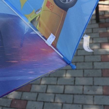 """Складной зонт трость детский для мальчика """"Тачки 3"""" 939-3"""