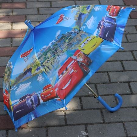 """Складной зонт трость детский для мальчика """"Тачки 3"""" 939-4"""