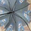 Складной зонт трость детский для мальчика Тачки 110-12