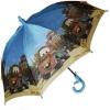Складной зонт трость детский для мальчика Тачки 110-10