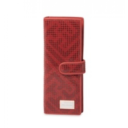 Визитница Nina Farmina 5NF-9284-033Red кожаная