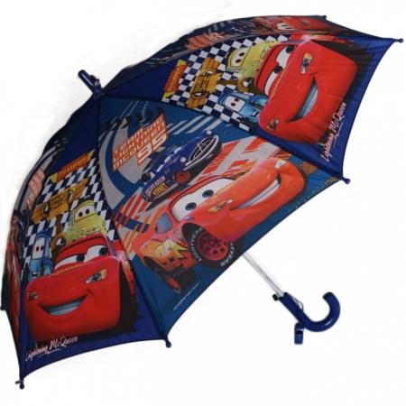 """Складной зонт трость детский для мальчика """"Тачки"""" 828-3"""