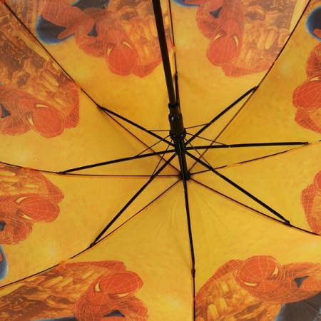"""Складной зонт трость детский для мальчика """"Человек-паук"""" 12-6"""